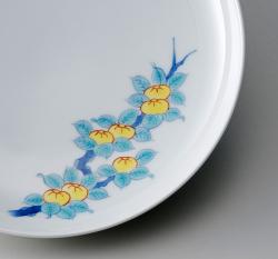 19cm和皿−鍋島五種絵変わり