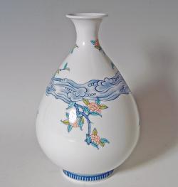 徳利形花瓶−木犀(もくせい)